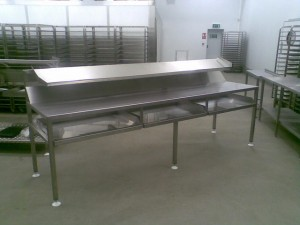 A piece of bespoke stainless steel fabrication successfully carried out be LEAD Process Engineering Ltd